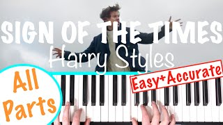 "How to play ""SIGN OF THE TIMES"" - Harry Styles 