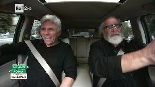 Dino Abbrescia e Diego Abatantuono - Milano-Roma In viaggio con i Gialappa's