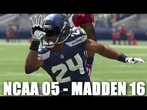 MARSHAWN LYNCH THROUGH THE YEARS - NCAA FOOTBALL 05 - MADDEN 16