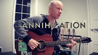 Annihilation (2018): guitar theme + TAB