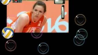 经典再忆!里约奥运会女排半决赛 央视洪刚冯坤解说及赛后采访 中国 vs 荷兰 Rio olympic women volleyball semi-final China vs Ne