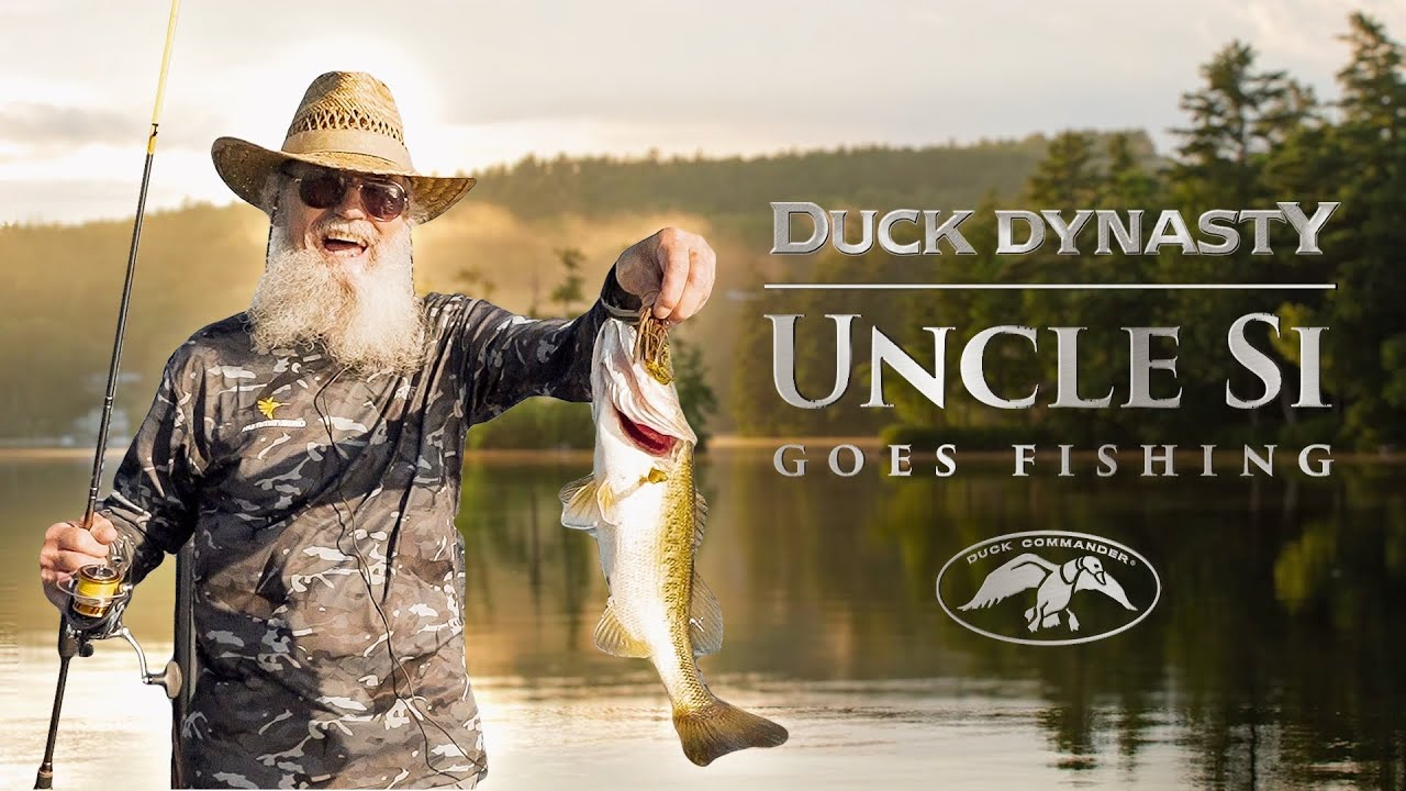 Uncle Si Goes Fishing & Tells Funny Stories