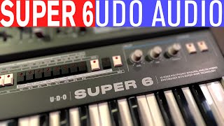 Super 6 - UDO Audio Polysynth review