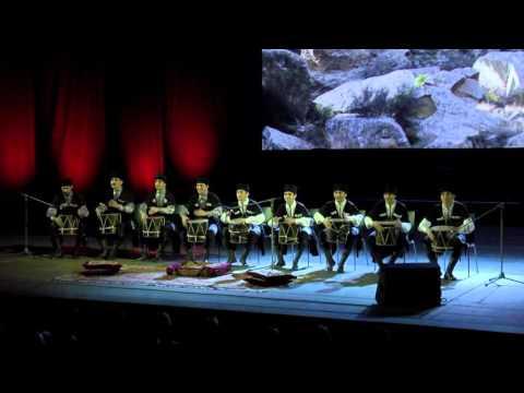 Ритмы Азербайджана. Танец с барабанами
