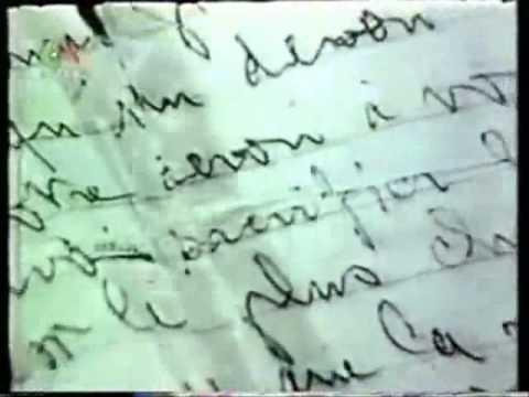 رسالة شهيد   Ahmed Zabana  lettre d'un chahid  أحمد زبانة