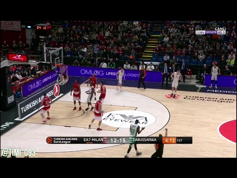 Ante Zizic Highlights vs EA7 Milano (17 pts, 8 reb, 2 blk)