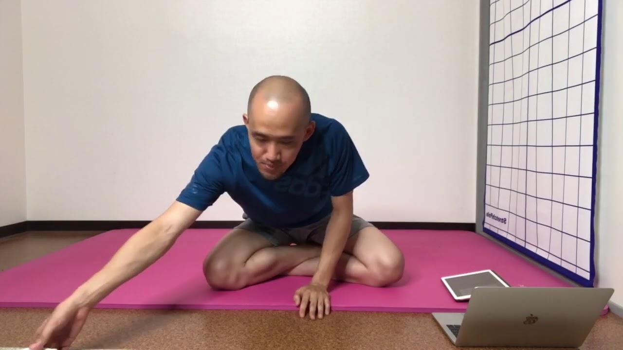 股関節の柔軟性&体幹の使い方(部分カット)