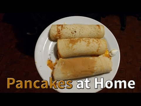 How To Make Pancakes At Home Easy Without Baking Powder