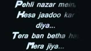 A Bazz Pehli Nazar Mein Lyrics