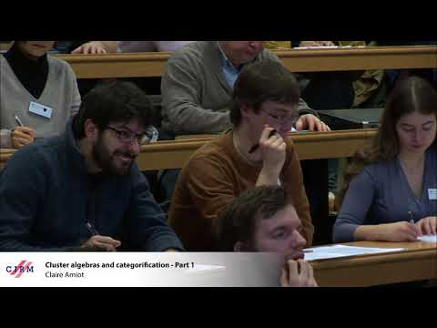 Claire Amiot: Cluster algebras and categorification - Part 1
