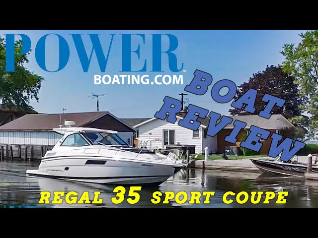 (live) #REGAL 35 SPORT COUPE (Boat Review)