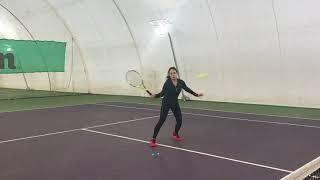 College Tennis Recruit Video OverBoarder - Imane Van Veen