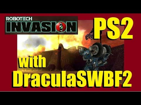 326 Days Streaming - Lets Play Robotech Invasion (PS2) with DraculaSWBF2 - 11/14/2017