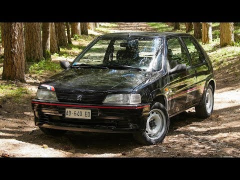 Download Youtube: Peugeot 106 Rallye 1.3 - Davide Cironi Drive Experience (ENG.SUBS)