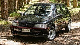 Peugeot 106 Rallye 1.3 - Davide Cironi Drive Experience (ENG.SUBS)