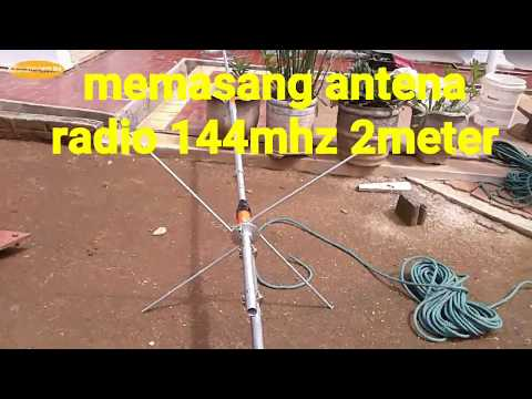 Repeat Antena radio vhf 144mhz  2meter band by Sinongsium - You2Repeat