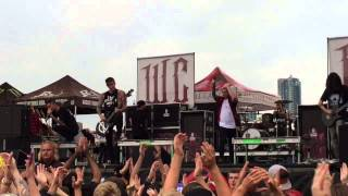 We Came As Romans - The World I Used to Know - 07/17/15 - Toronto Warped Tour (LIVE)