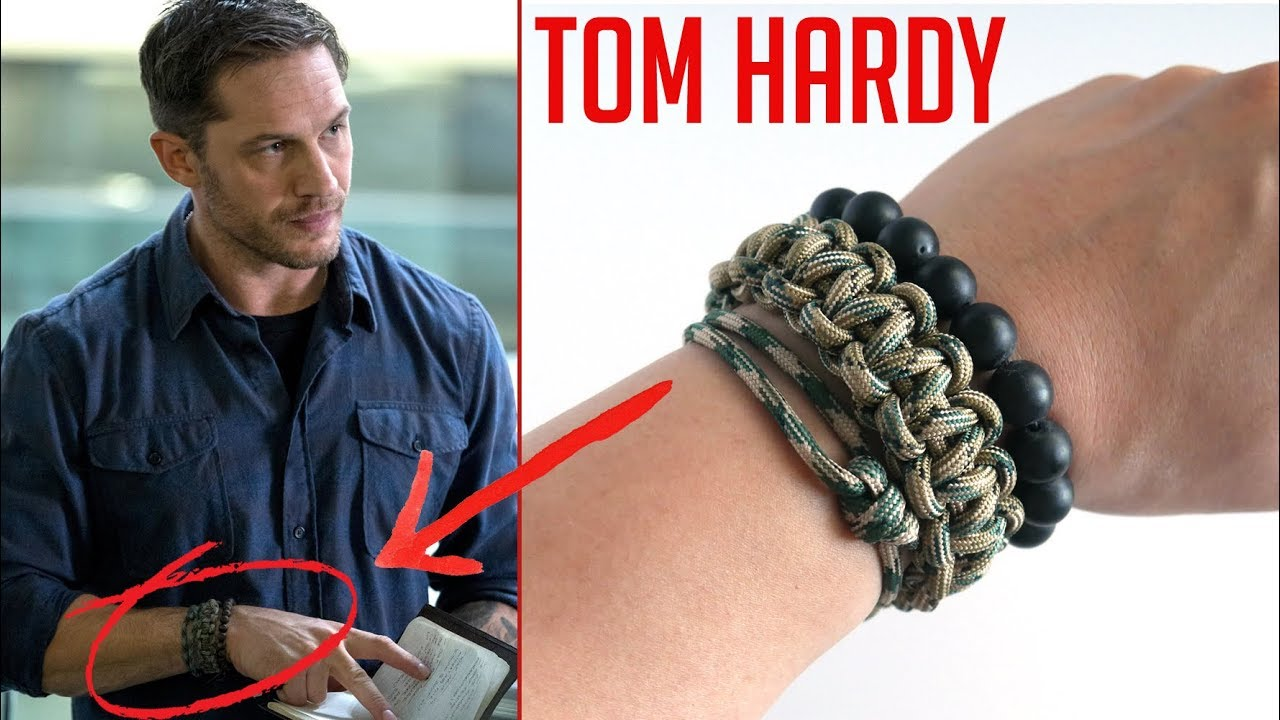 Recreating Tom Hardy S Paracord Bracelets From Venom