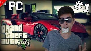 GTA 5 PC Türkçe Online Multiplayer | Serbest Takılma ve Yarış | Bölüm 1