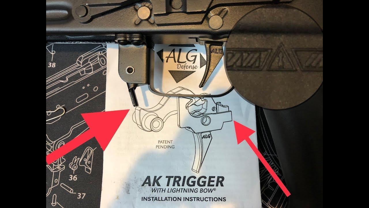 ALG DEFENSE AK TRIGGER (AKT) REVIEW & INSTALLATION