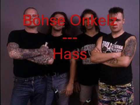 Böhse Onkelz - Hass (Lyrics)