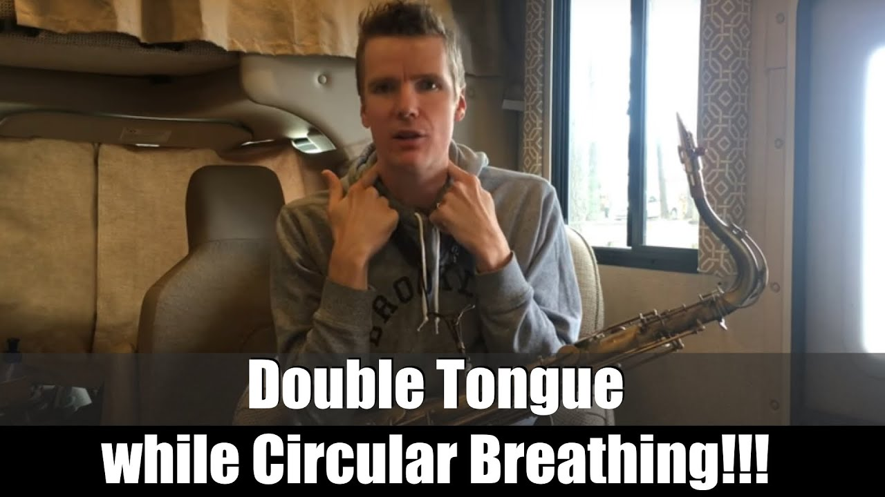 """Double Tongue WHILE Circular Breathing! (Extremely Advanced)- """"BEATBoX SAX  Tutorials Vol 2"""""""