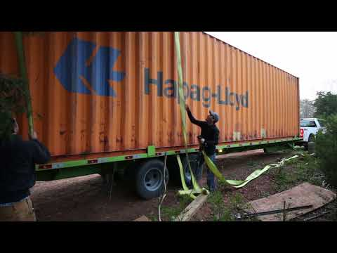 SHIPPING CONTAINER... The delivery!!! E3