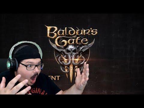 Baldur's Gate 3 Reveal Trailer | Backwards Hat Reacts |
