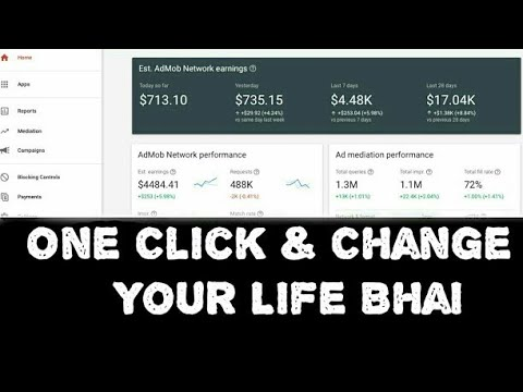 Admob Ads Now Work Earn 200$ In 1 Days 100% Right ??( 2019 New Applovin )