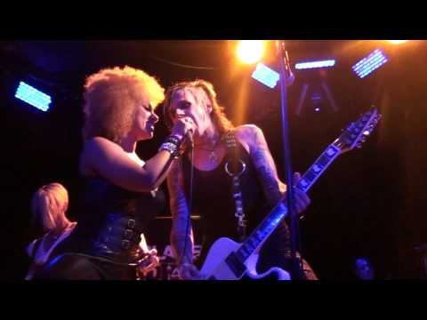 """Acey Slade and the Dark Party Feat. Militia Vox with"""" She Brings down the Moon"""" Live"""