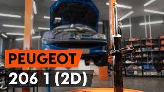 Cum se înlocuiește telescopul amortizorului față PEUGEOT 206 1 (2D) [TUTORIAL AUTODOC]