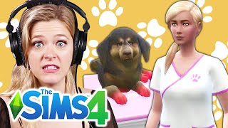 Single Girl Saves Her Children's Pets In The Sims 4 | Part 4