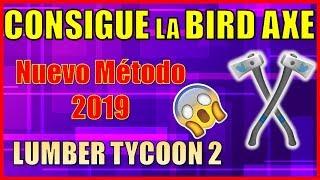 COMO OBTER O PÁSSARO AXE LUMBER TYCOON 2 (TRABALHO) ROBLOX 2019