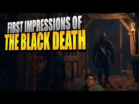 A New Medieval Survival Game (The Black Death) First Impressions w/ Shadowfrax