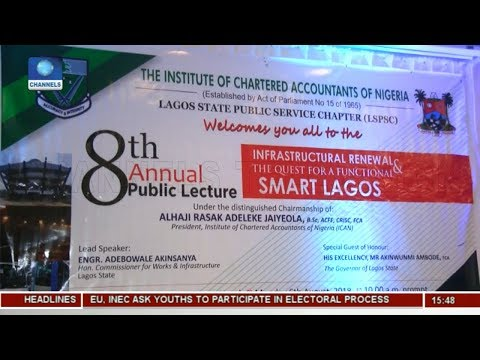 Lagos Body Of Accountants Identify Its Position To Work With State Govt In Actualizing Smart City
