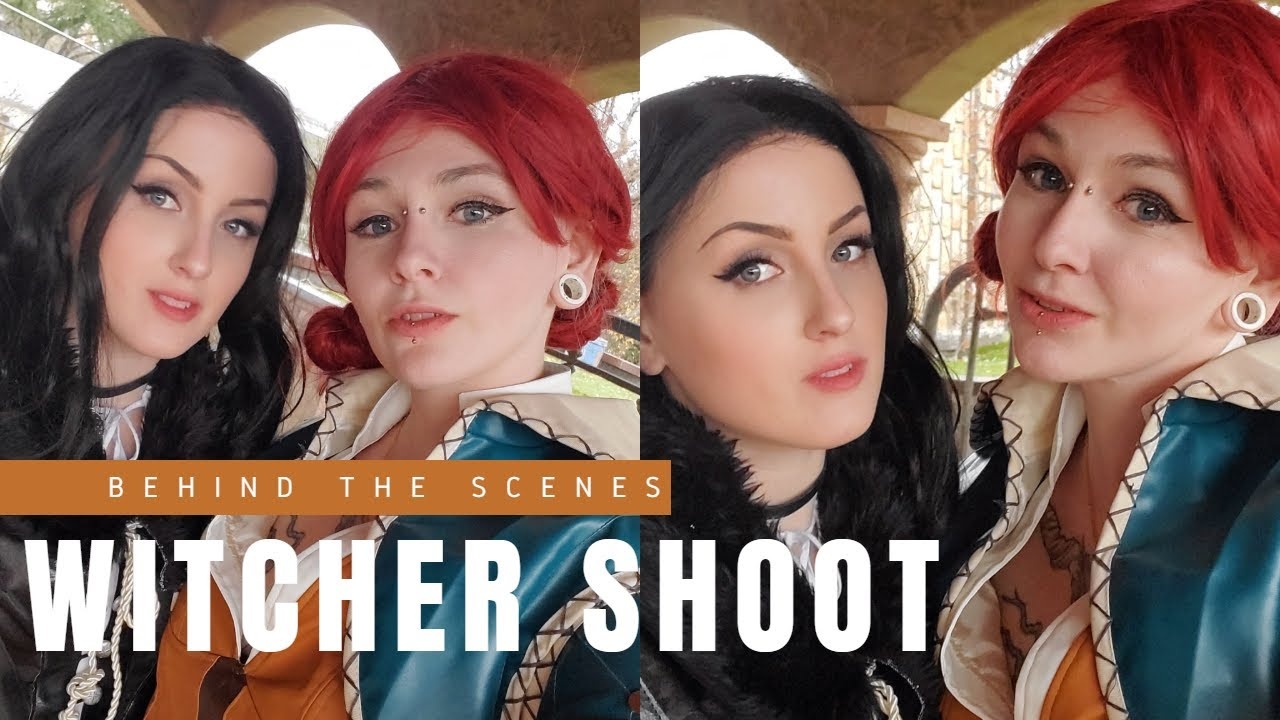 The Witcher Cosplay Shoot: Yennefer & Triss with Melissa Drew & Raen Aria