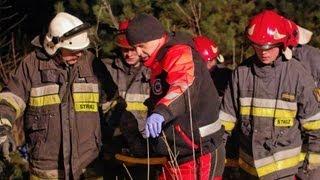 Wypadek pod Bydgoszczą - Wilcze / Żołędowo - trzy samochody osobowe - akcja ratunkowa