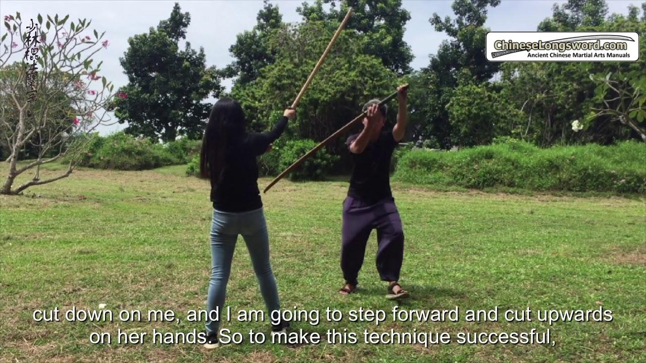 "Mizoguchi Ha Itto Ryu - Similar principles with Shaolin Staff's ""Evade-and-Deceive"""