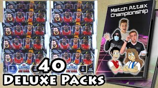 40 Match Attax 202021 Deluxe Pack Opening 8 Channel Pack Battle Collaboration Who Will Win