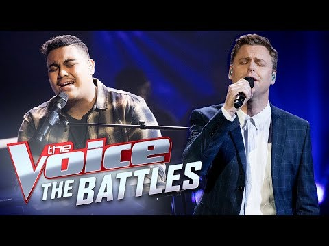 Hoseah Partsch vs. Nathan Kneen: 'Bridge Over Troubled Water' | The Voice Australia 2017