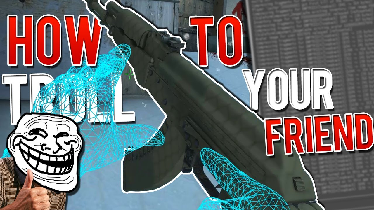 3 SV_CHEATS 1 COMMANDS TO TROLL YOUR FRIENDS! ♛ CSGO