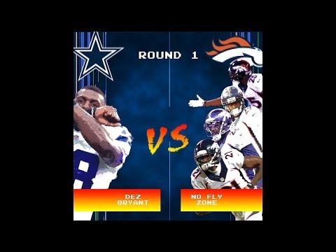 Dez Bryant vs. No Fly Zone 🎮 | NFL Week 2 Video Game Highlight Showdown | The Checkdown