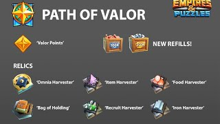 Path of Valor and new S3 heroes review, Empires and Puzzles