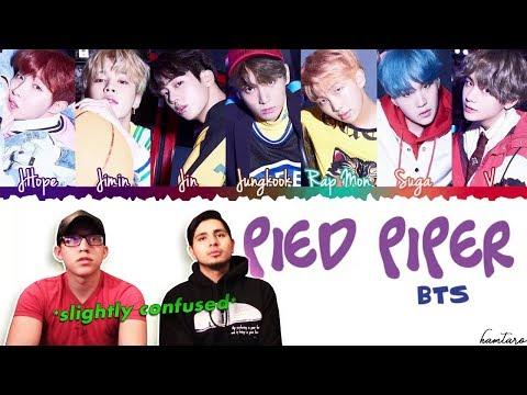 GUYS REACT TO BTS 'Pied Piper' Lyrics