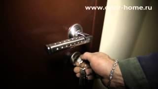 Установка металлической двери с тройным контуром уплотнения