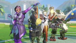 OVERWATCH Summer Games Trailer New Skins 2017 PS4 Xbox One PC