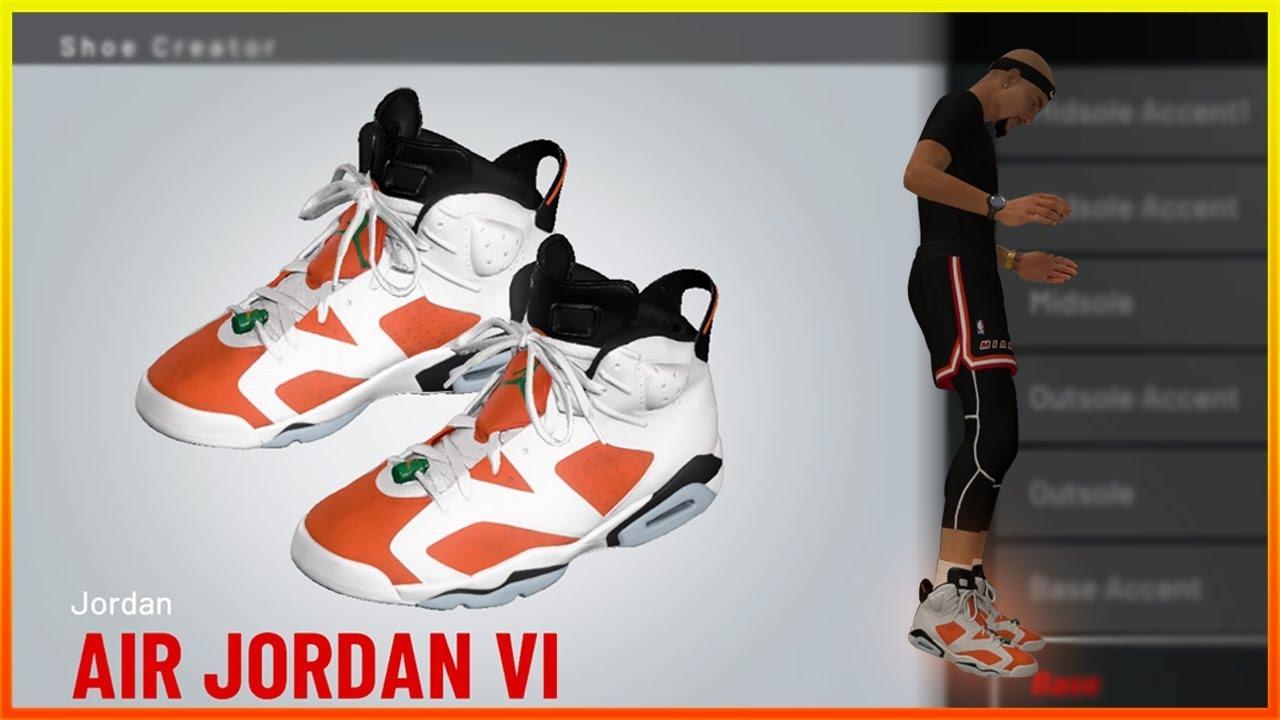 90f24d20b5b433 HOW TO MAKE JORDAN GATORADE 6 S! (NBA 2K19) - YouTube