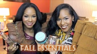 Fall Essentials - Fashion & Beauty! Thumbnail