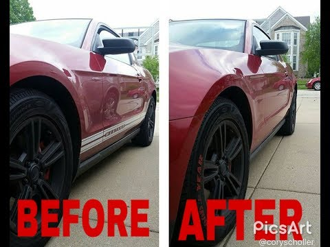 How to remove vinyl decals off your car with only a hair dryer