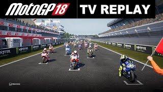 MotoGP 18 | Valentino Rossi | Championship | 7# CatalanGP | TV REPLAY PC